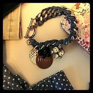 Jewelry - Leather Charm Bracelet